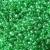 2 mm šviesiai žali karoliukai, 20 g