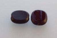 14x12 mm čekiško stiklo karoliukas,