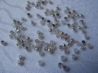 Spaustukas sidabro spalvos 2 mm, 200 vnt