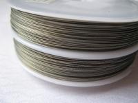 7 gijų plieninis troselis 0,38 mm, 100 m