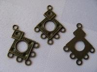 23x33 mm paskirstytojas bronzos spalvos, 1 vnt